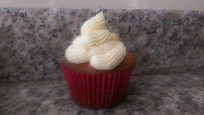 Cupcake chocolate blanco
