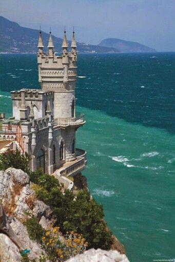 Sea castle Scotland
