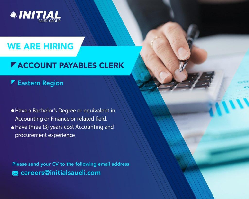 Accountant Saudi Arabia Job Openings Job Opening Job Accounting