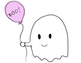 cute ghost  Google Search  Just Kawaii  Pinterest  Kawaii
