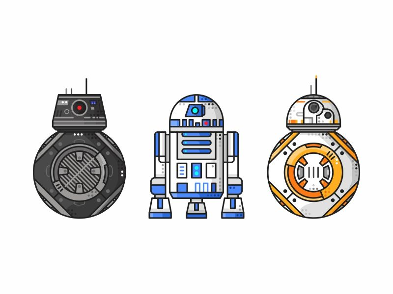 Droids Shapes Challenge In 2019 Star Wars Drawings Star