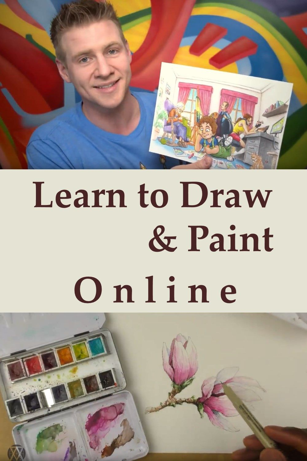 Best Youtube Channels For Learning To Draw And Paint Drawing And