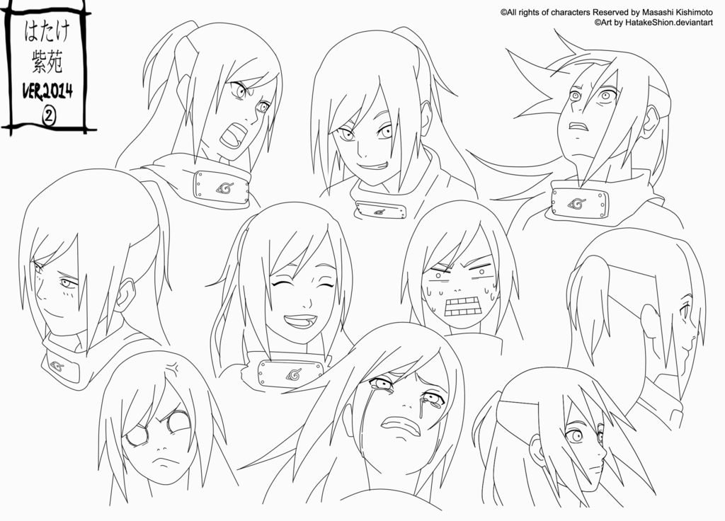 Reference _Shion 13-14 years  _FACE by HatakeShion.deviantart.com on @DeviantArt