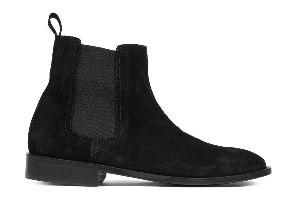 Represent Chelsea Boot - Black