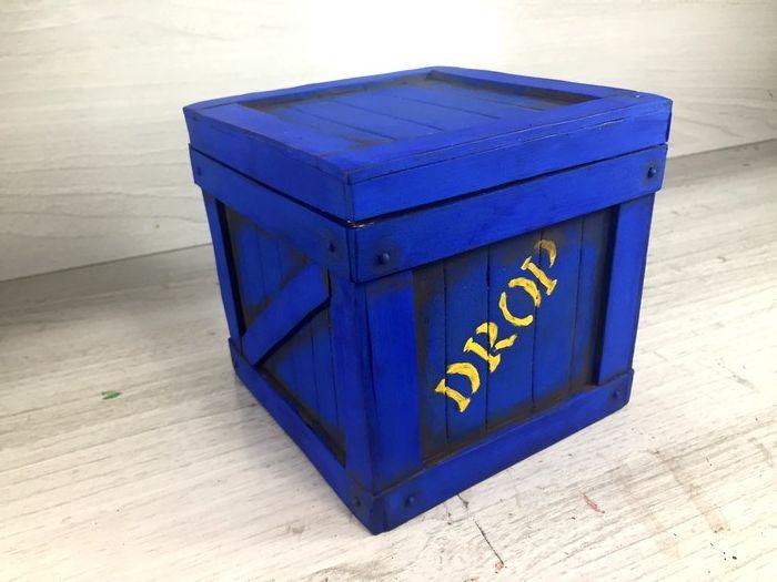 Diy Fortnite Free Fire E Pubg Drop Box Air Drop