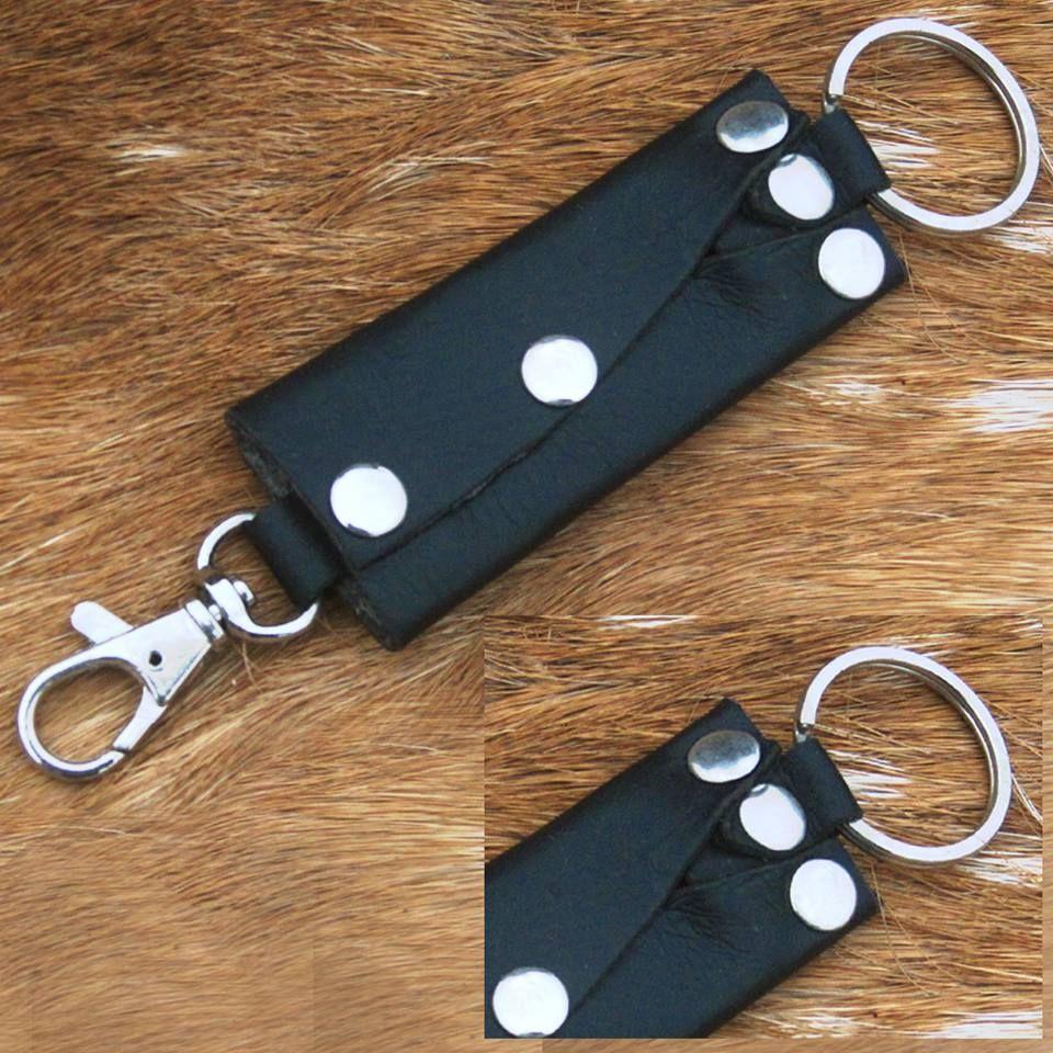 Accessories Card Key Case Holder Cowhide Zipper Gift Car Home Solid Women Men