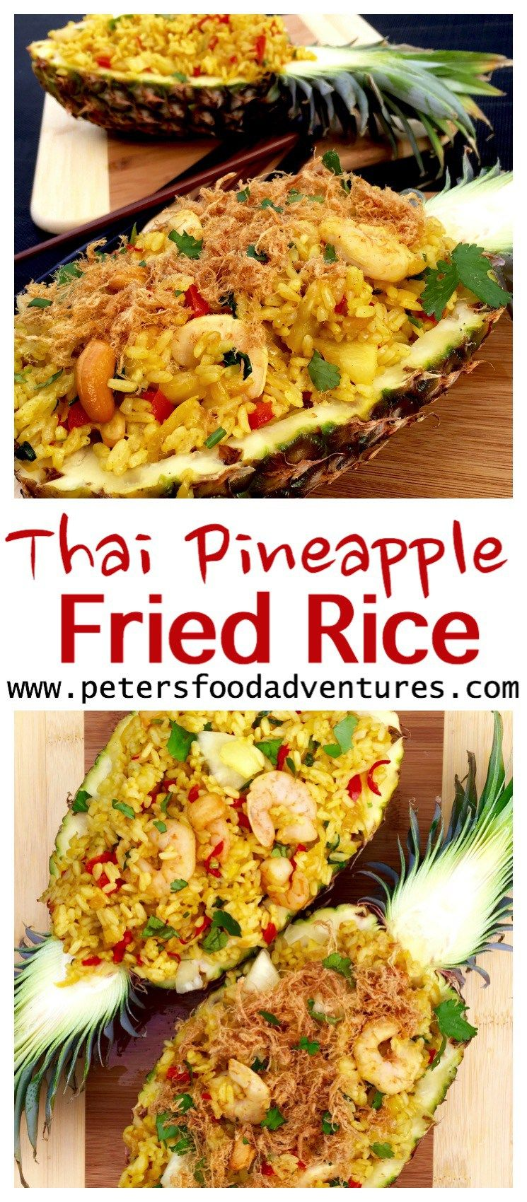 Authentic thai pineapple fried rice easy to make and delicious authentic thai pineapple fried rice easy to make and delicious ccuart Image collections