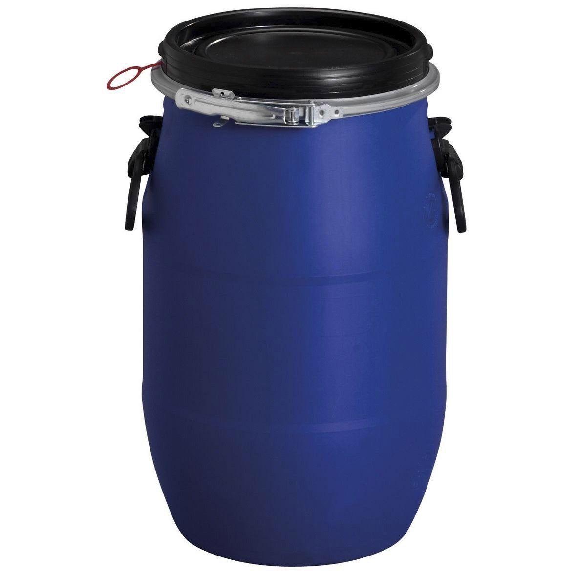 Fût De Macération Aérien Garantia Cylindrique Bleu 30 L En