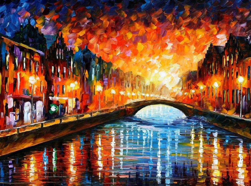 leonid afremov farewell painting oil on canvas u0026 frame leonid afremov farewell is shipped worldwide 60 days money back guarantee