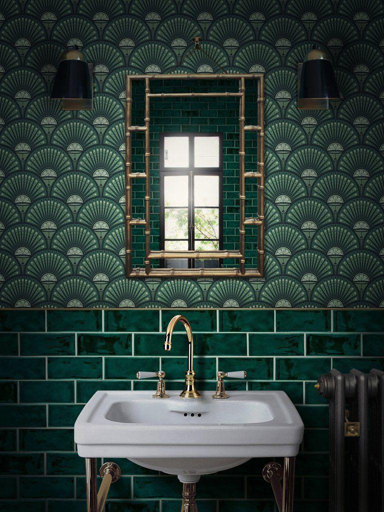 Faire Sa Salle De Bain salle de bains art déco : les tendances à connaître - rhinov