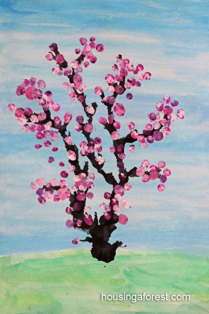 Tree Activities For Kids Spring Art Projects Spring Art Tree Art