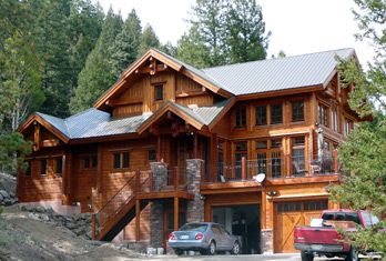 Fantastic Huge Luxury Log Homes In The Tetons Log Homes In Denver Download Free Architecture Designs Terstmadebymaigaardcom