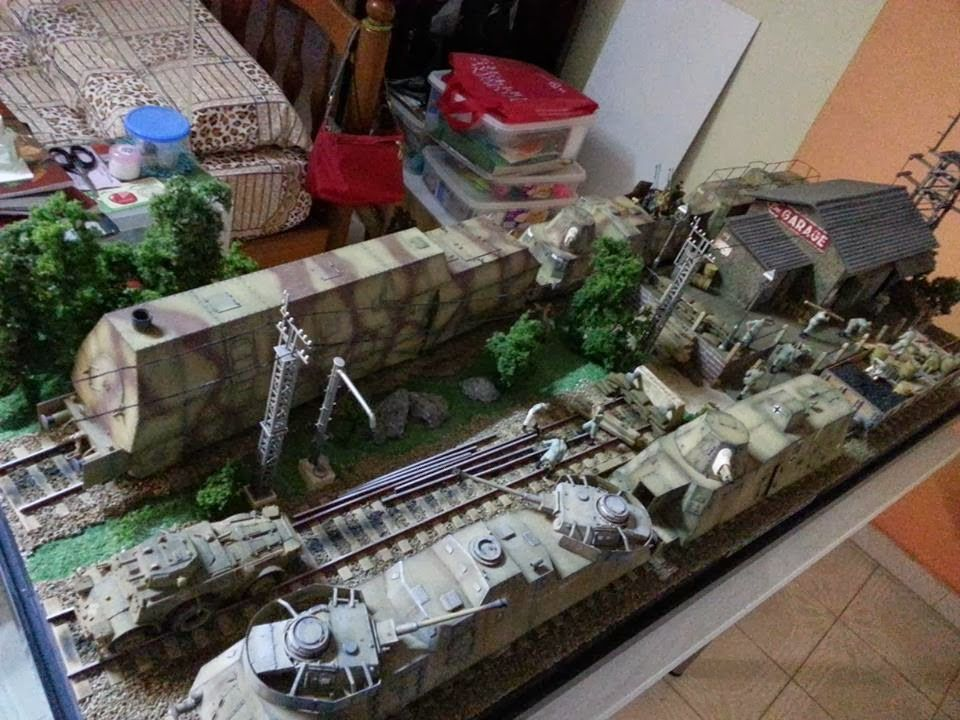 Kitter's Scale Models: 1/35 German Armoured Train Depot