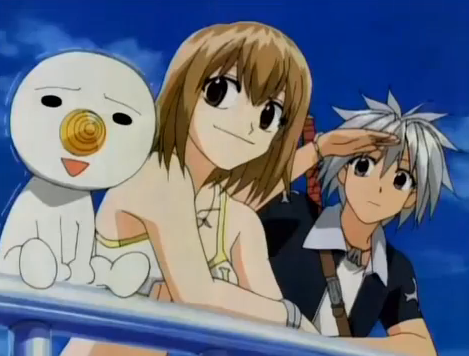 Is Plue in Fairy Tail and in Rave the same? Anime