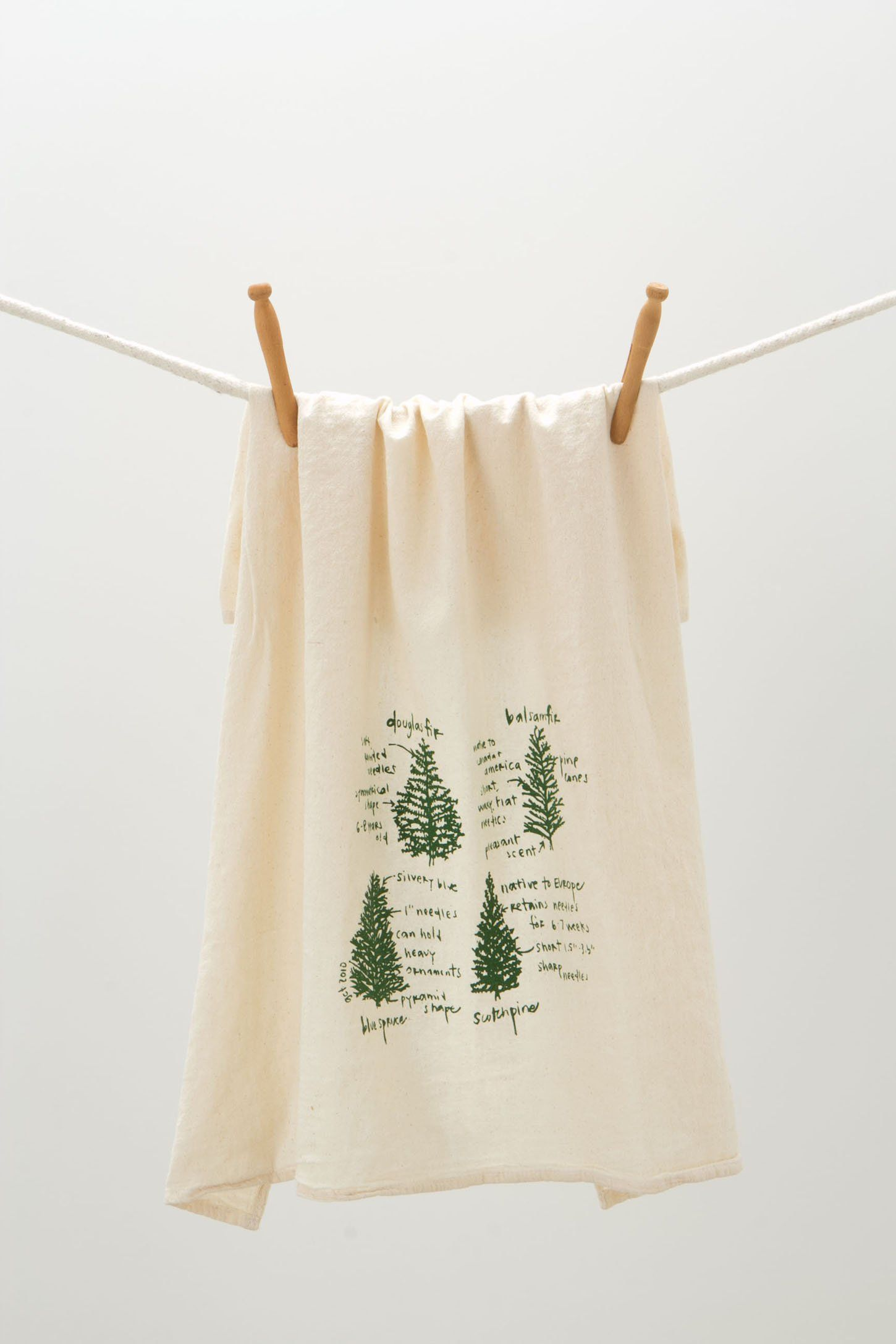 Tree Diagram Dishtowel Anthropologiecom Up North Pinterest Nest Christmas