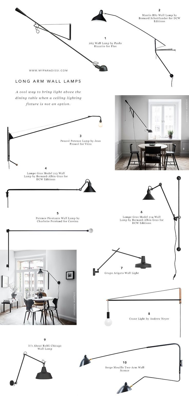 A cool way to light a dining room without a ceiling light images