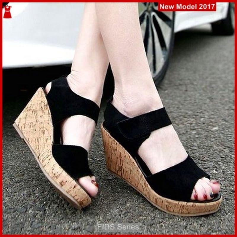 Fids049 Sandal Wanita Sandal Wedges Kerja Bmgs Model Sepatu