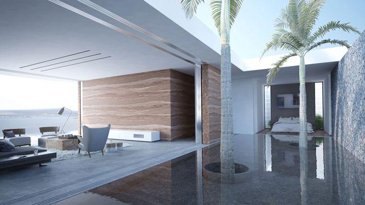 magnifique maison d architecte mayotte avec une vue. Black Bedroom Furniture Sets. Home Design Ideas