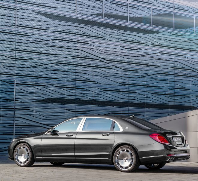 The new Mercedes-Maybach S-Class is the world's quietest production saloon car.