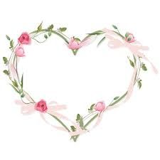 Image Result For Shabby Chic Clipart Frame Floral Flower Heart Decoupage