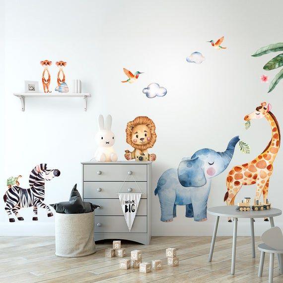 R00534 Wall sticker Adesivi murali bambini Carta da parati