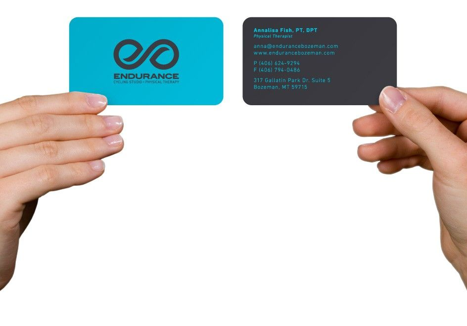 Endurance – Bozeman Cycling Studio Physical Therapy Business Card ...