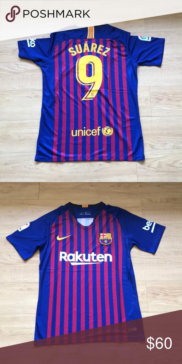 bb9f78ba712 Nike Luis Suarez FC Barcelona Home Jersey Brand New Home Jersey 18 19 Nike  Shirts