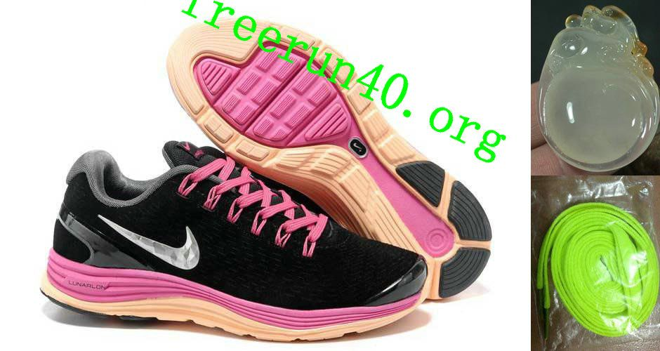 3003d8919f9f6b Cheap Nike Free US Size for Sale Womens Nike LunarGlide 4 Suede Black  Fireberry Pearl Pink Silver Running Shoes  nike free for sale -