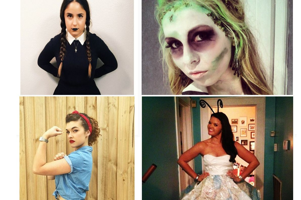 Inspiraatiota halloween-asuihin naisille - katso 20 DIY-ideaa