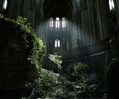 St Etienne abandoned church (France)
