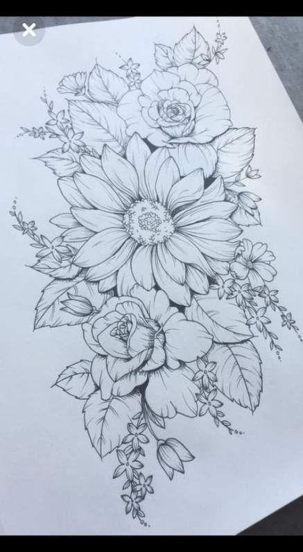 Tattoo Hip Sunflower 46+ Ideas For 2019