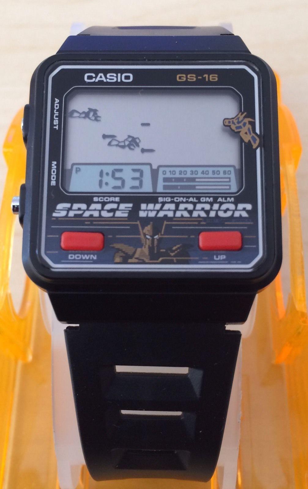 Reloj Casio Game Watch 686 Gs 16 Space Warrior | eBay