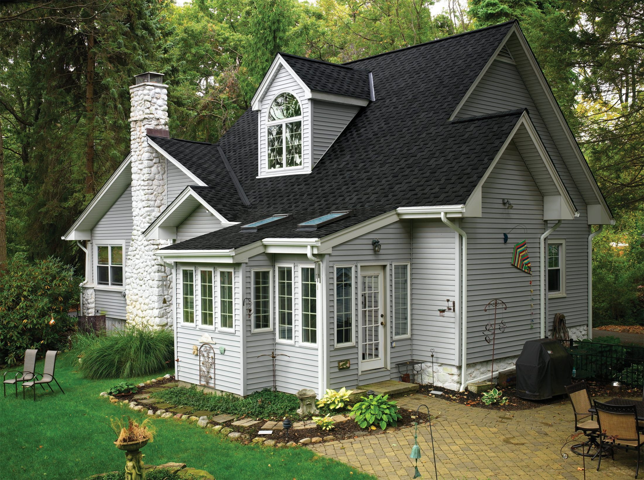 Houses With Charcoal Roofs   Yahoo Image Search Results