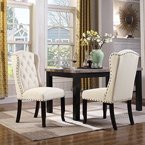 Best Iconic Home Nayman Dining Side Accent Wingback Chair 640 x 480