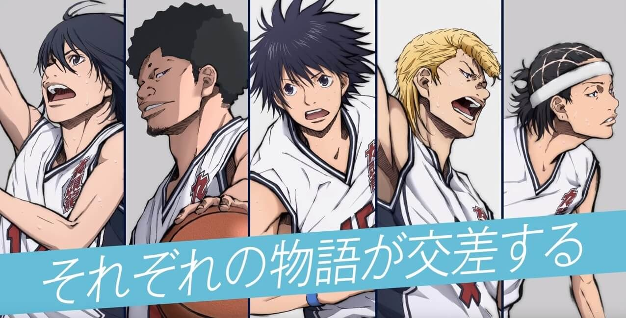 Ahiru no Sora anime recebe novo trailer de lançamento