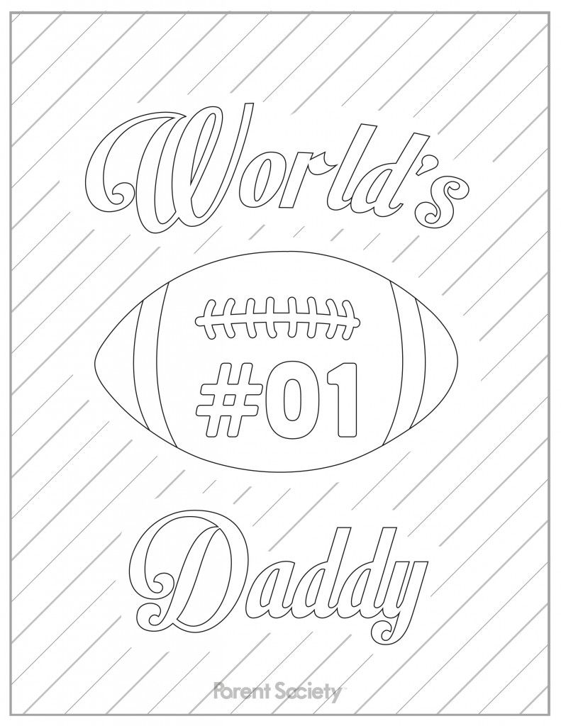 Printable coloring pages for fathers day - Father S Day Printable Coloring Pages
