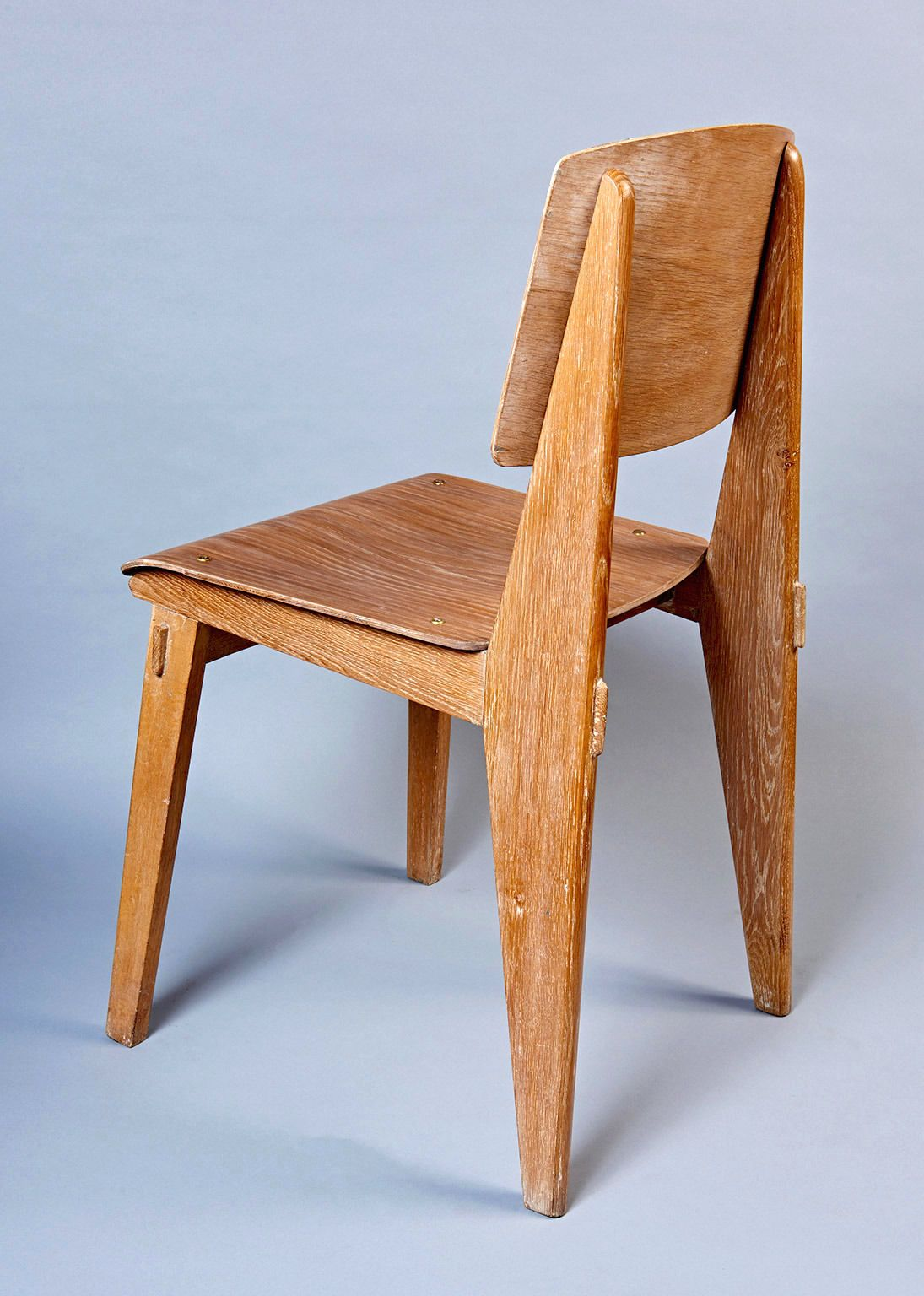 Chaise En Bois By Jean Prouve From A Unique Collection Of