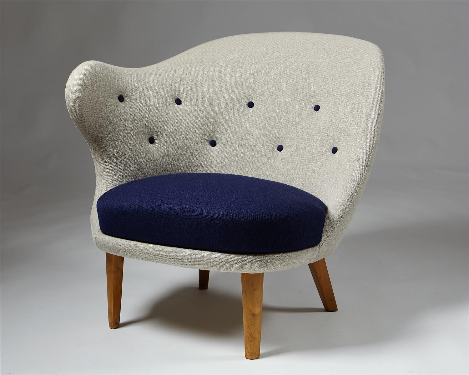 "Armchair""The Thumb"" designed by Arne Norell for Gösta Westerberg, u2014 Modernity MCM Design"