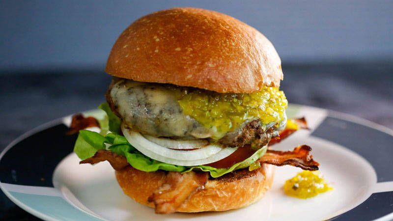 Buffalo Burgers Recipe Rachael Ray Show Franks Red Sauce