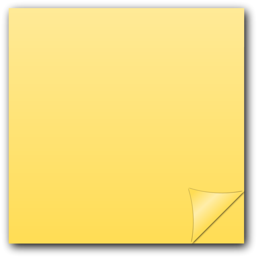 50+ Yellow sticky note clipart information