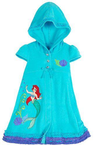e534cfb009 Store Ariel The Little Mermaid Swimsuit Cover Up: Size XXS 2/3 (2T/3T)