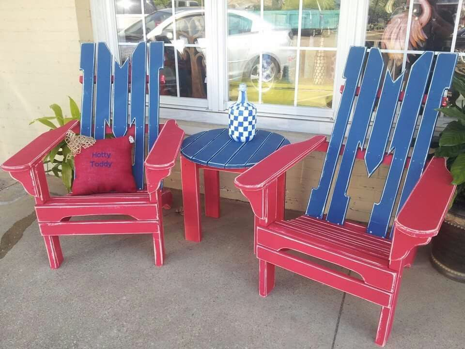 Ole Miss Chairs! ~ The Hope Chest ~ (woodwork, Furniture Restoration U0026 Art