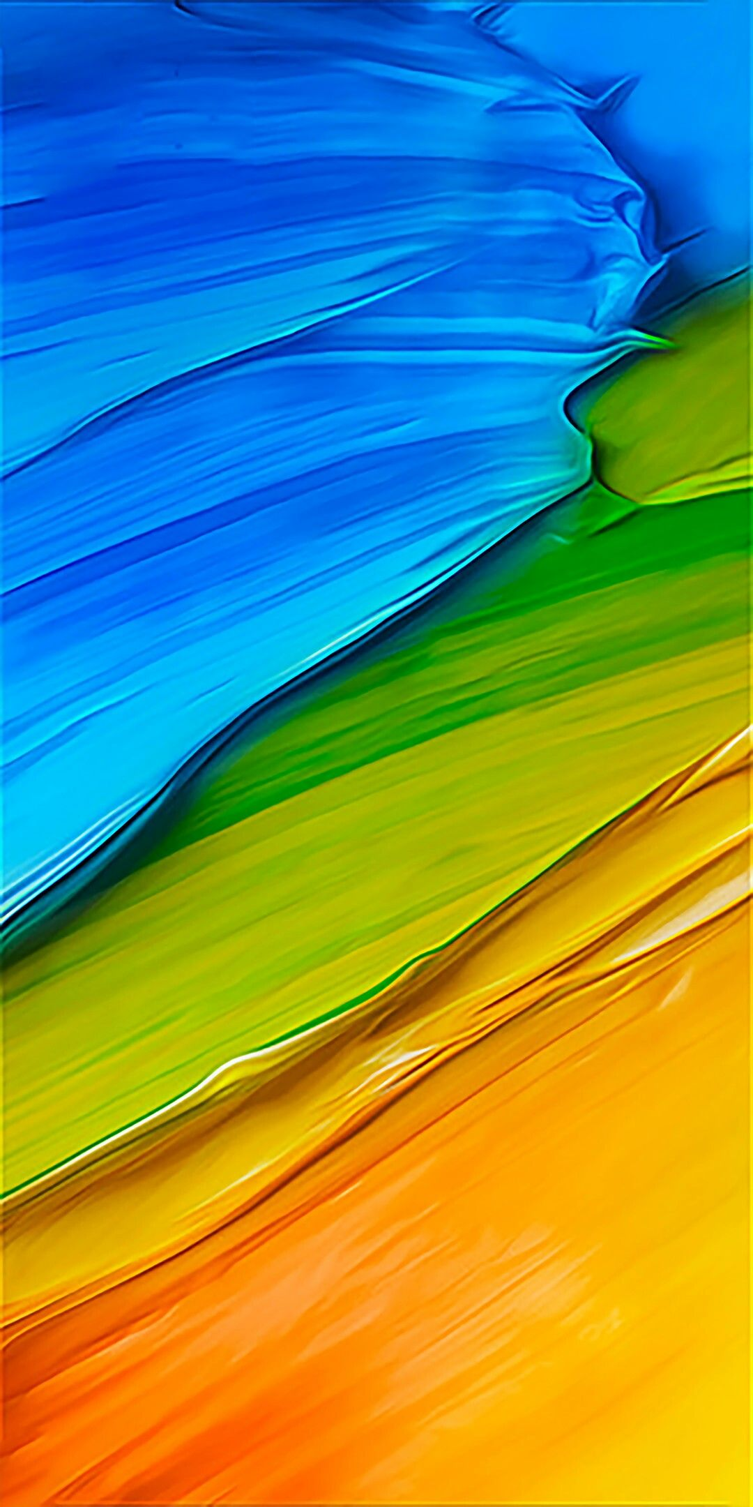 Redmi 5 Plus Lockscren Abstract Amoled Liquid Gradient Mobile