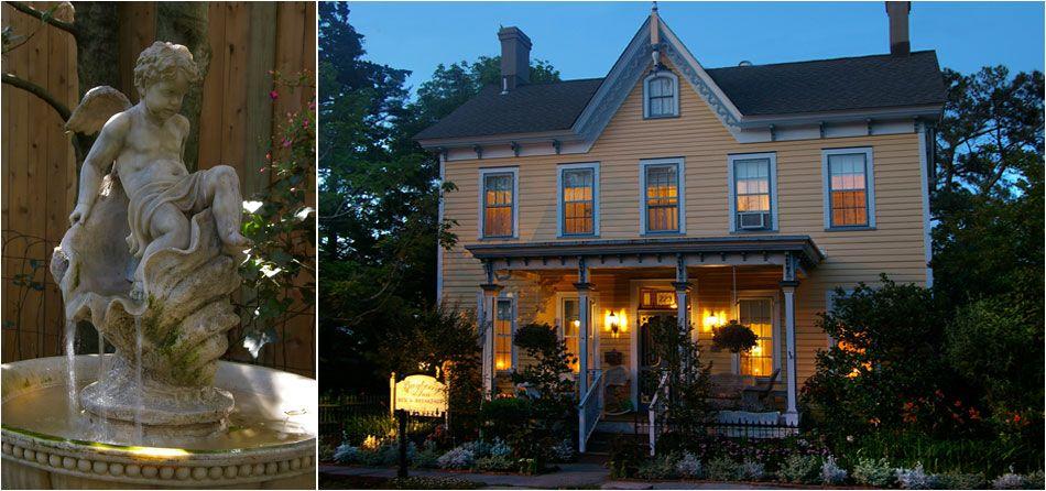 Lovely Bayberry Inn - Cape May, NJ at dusk