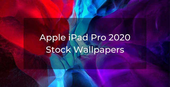 Apple iPad Pro 2020 Stock Wallpapers WallpaperLabs in