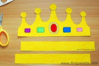 Rosa de Saron: Moldes de coroas para peças infantil