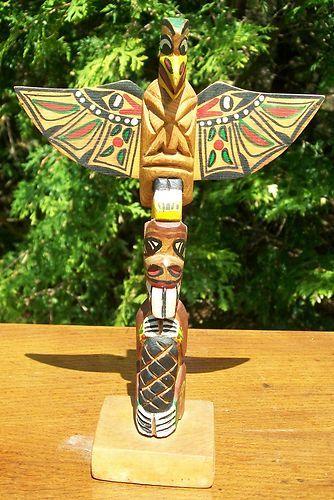 Northwest Coast Native Indian Art Totem Pole Art ... - photo#24