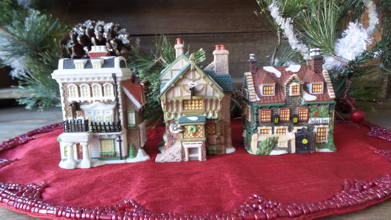 Vintage Dept 56 House Ornaments Charles Dickens Heritage Dept 56 Ornaments Dedloc House Ornaments Vintage Christmas Ornaments Vintage Christmas Decorations