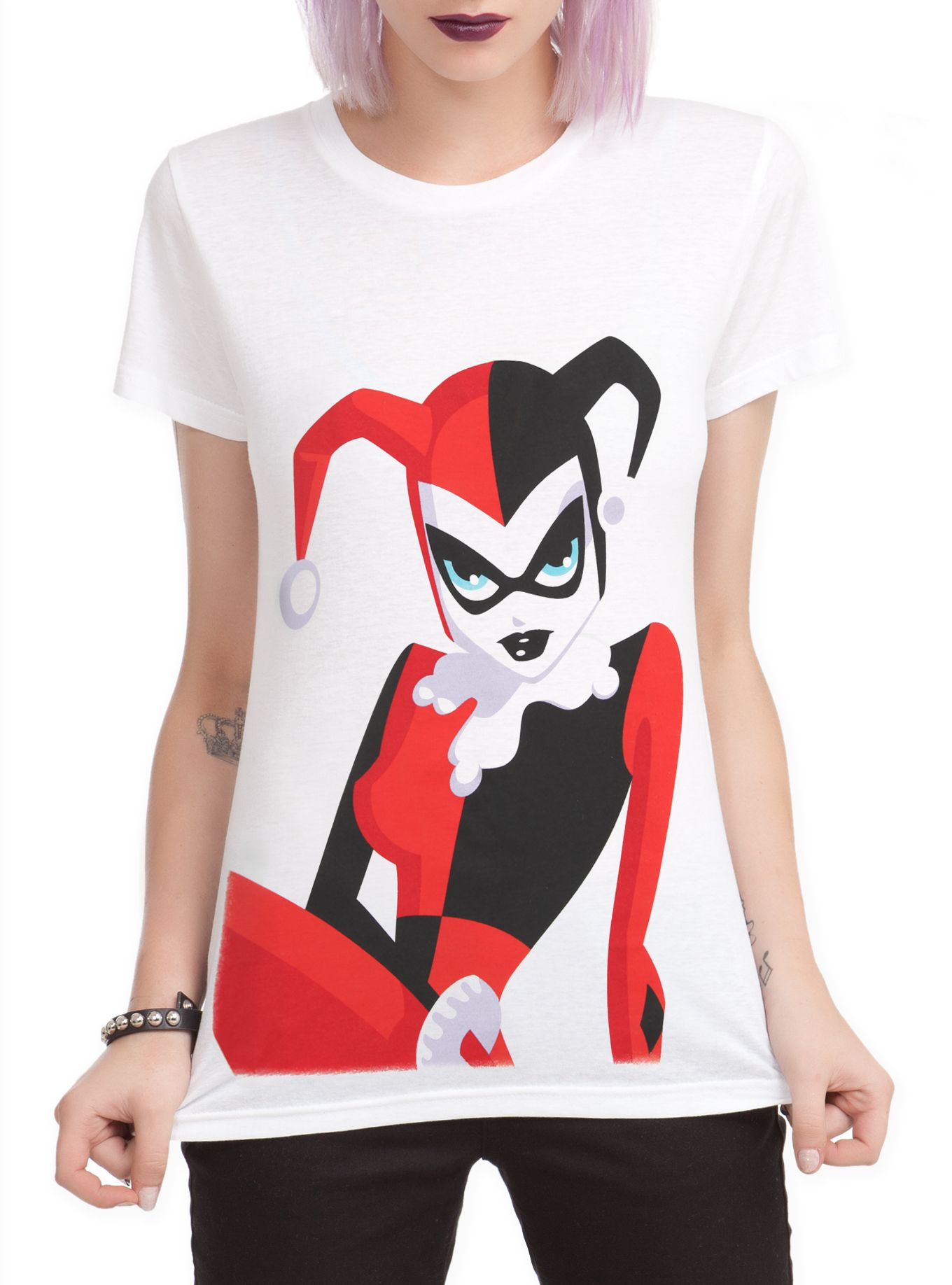 OFFICIAL Harley Quinn Costumes, Shirts & Merchandise   Hot Topic