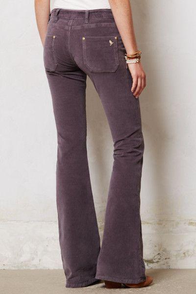 c32de0c9a grey kick flare jeans   Mih Jeans Petite Casablanca Flare Jeans in Purple  (Grey Velvet)   Lyst